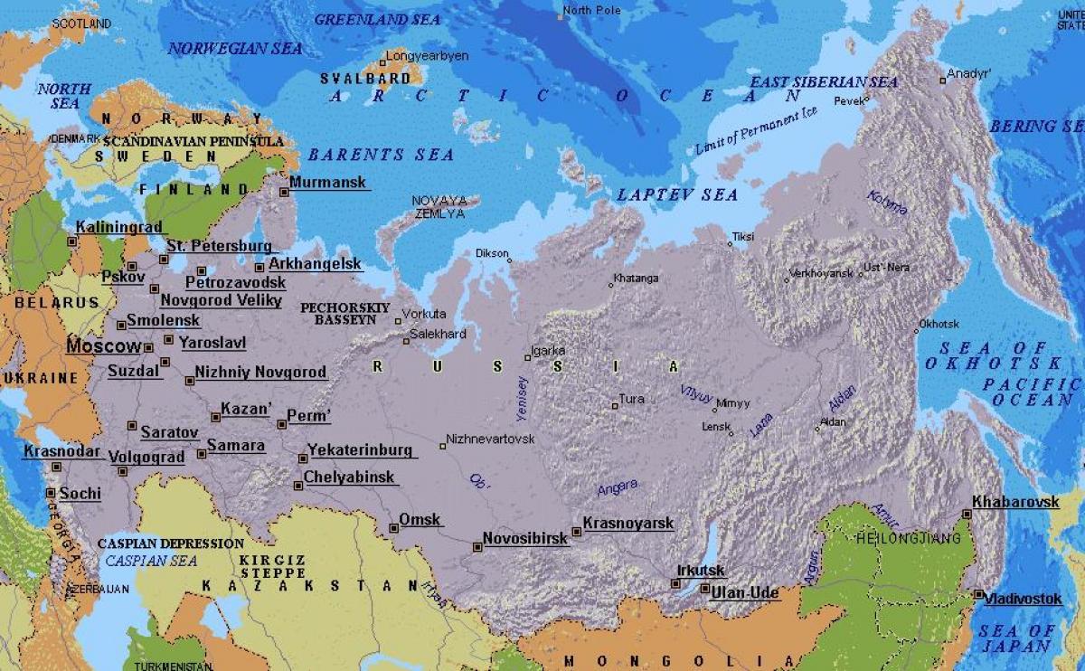 Moskva Karta Na Rusiya Karta Na Moskva Rusiya